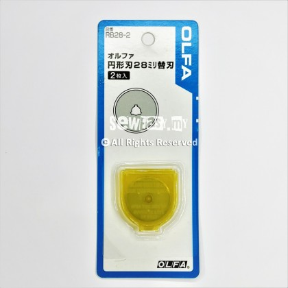 28mm & 45mm OLFA Refill Blade For Rotary Cutter