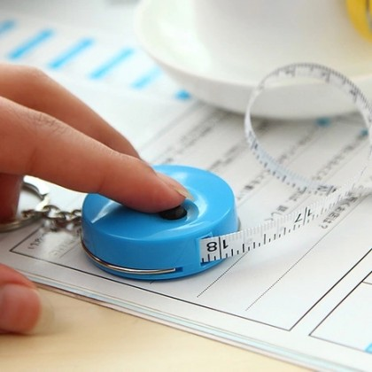 Deli Multi-color Sewing Retractable Ruler Tape Measure 1.5M / Pita Ukur