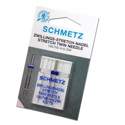 STRETCH TWIN NEEDLE 4.0/75 (SCHMETZ)
