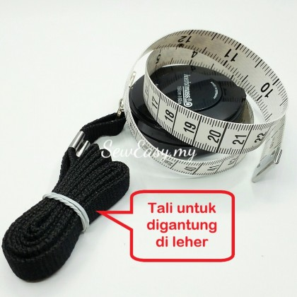 Germany Hoechstmass Retractable Measuring Tape (150cm / 60In)