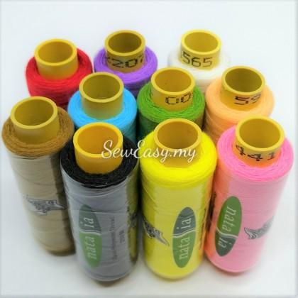 10pcs 250Meter Benang Jahit Biasa Spun Polyester Thread