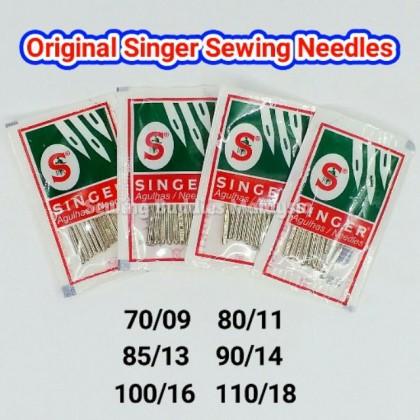 10pcs/pack - ORIGINAL Singer Sewing Needle / Jarum Jahit Portable